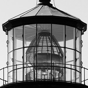 Lighthouse glass detail