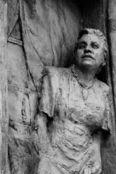 detail of sculpture