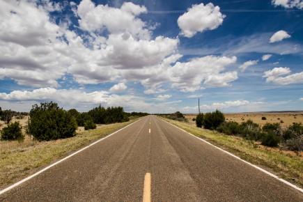 Drive to Gran Quivera Mission